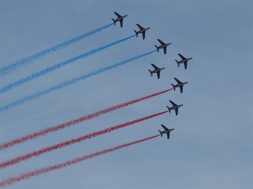 Passage de la patrouille de France