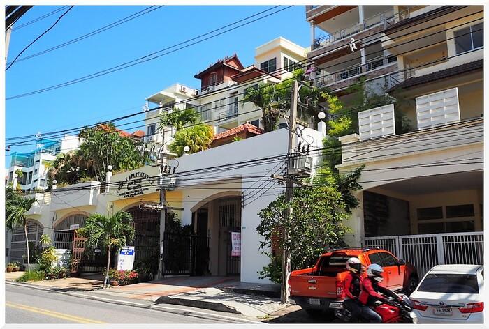 Maisons exceptionnelles à Jomtien. Thaïlande.