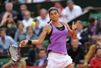 Caroline Garcia secoue Sharapova