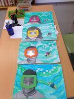 Classe de mer: arts visuels