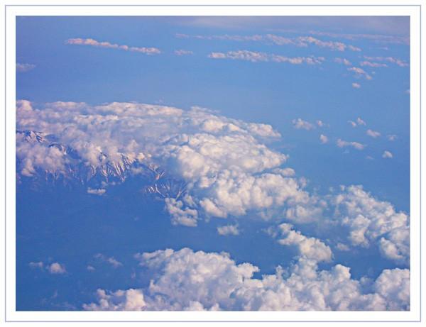 Au-dessus des Alpes