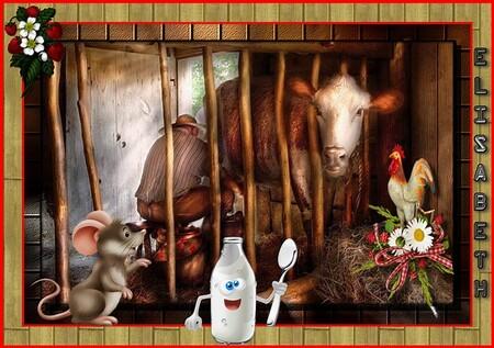Traite vache
