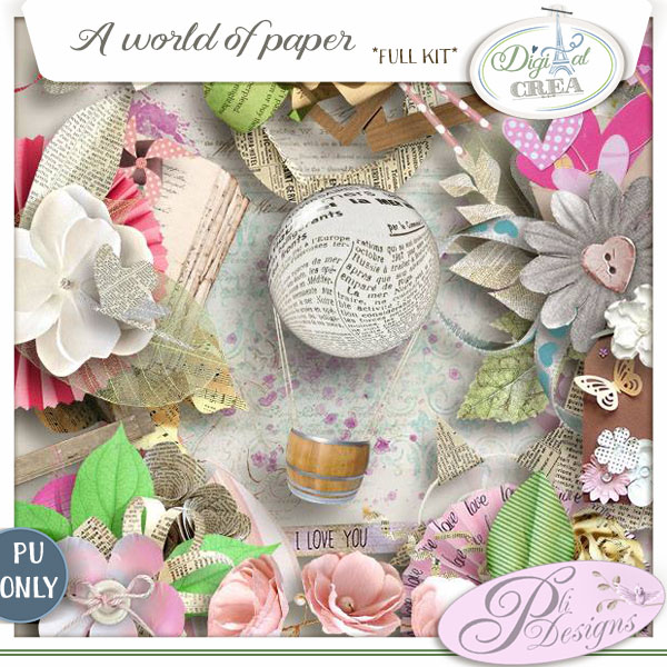 A world of paper (PU) PliDesigns
