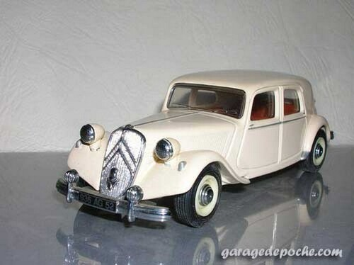 Citroën Traction 15 cv 1952