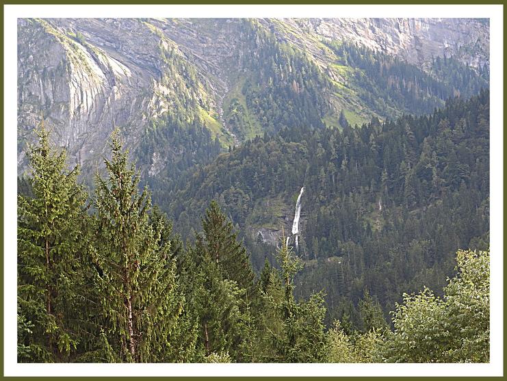Le fer à cheval.Haute Savoie