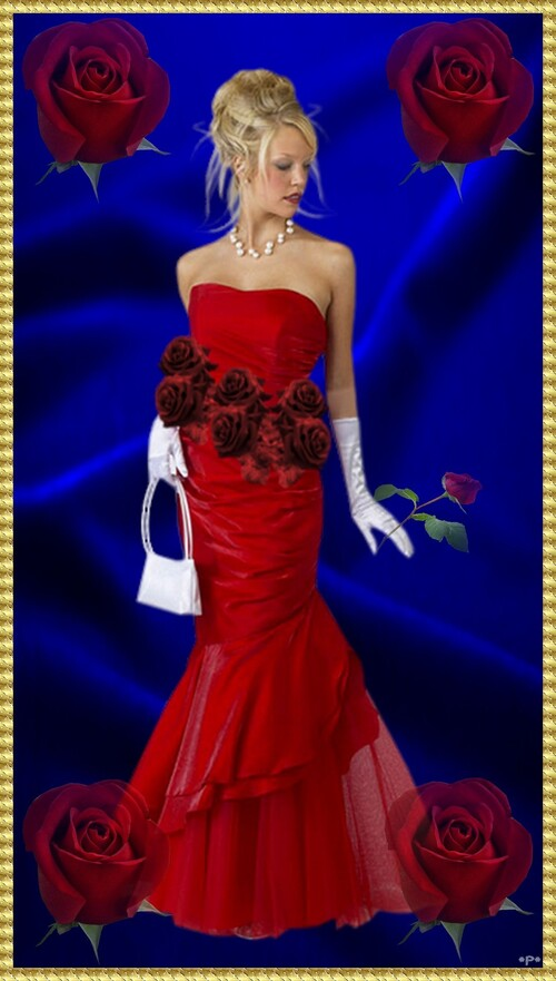 La Fille aux Roses rouges
