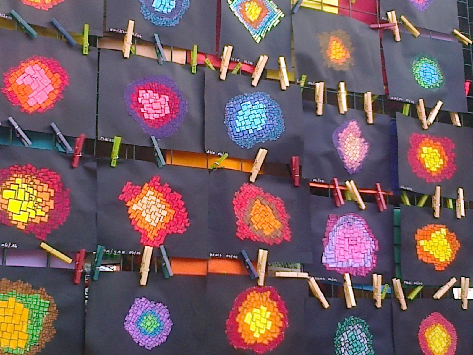 Bien connu Exposition d'Arts plastiques école les Flamboyants - carpe diem VT32