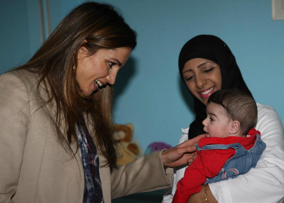 Rania à l'orphelinat