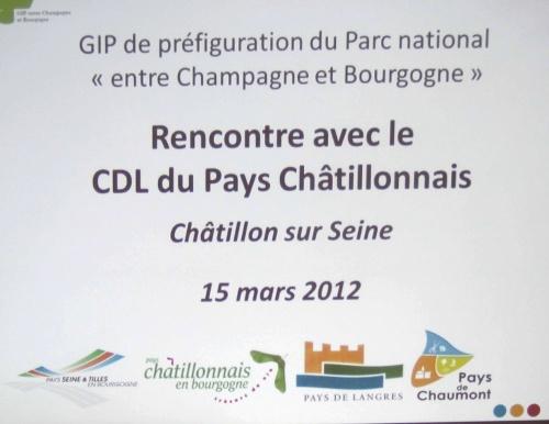 Rencontre entre Christophe Gallemant, directeur du GIP, et les adhérents de la CDESPC...