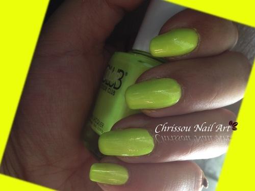 Jaune et vert fluo