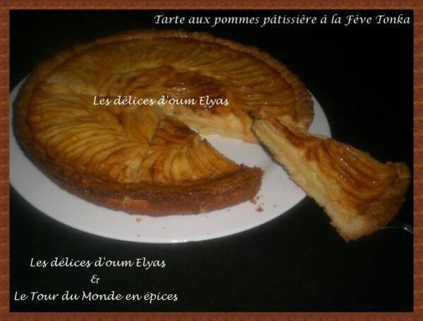 Tarte aux pommes pâtissière à la Fève Tonka (3)