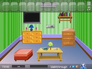 Jouer à Small green room escape