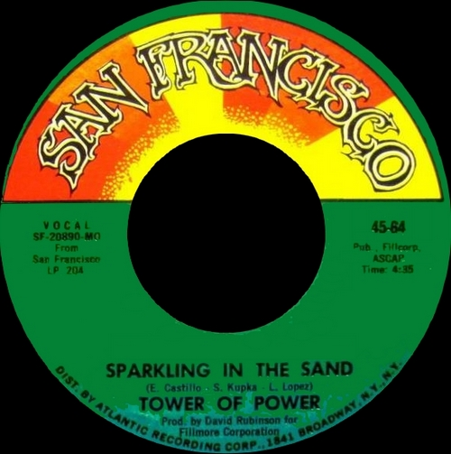 "Tower Of Power : Album "" East Bay Grease "" San Francisco Records SD 204 [ US ]"