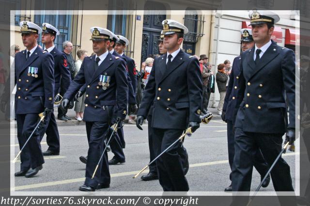 Le défilé des marins