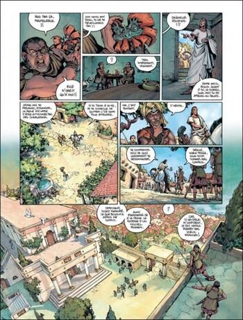 Le Roi perdu de Le Tendre & Lereculey - Golias, tome 1