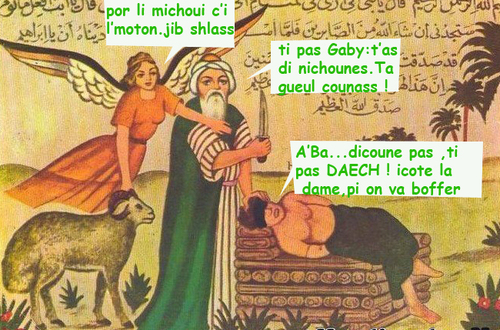 St du jour/Abraham/ sacrifice