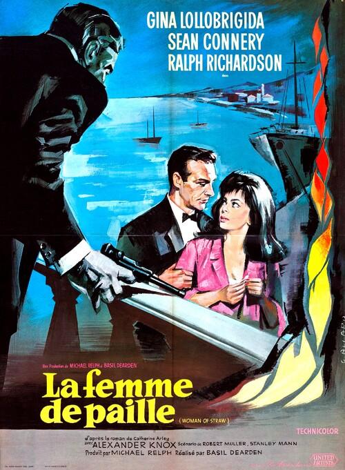 LA FEMME DE PAILLE - BOX OFFICE SEAN CONNERY 1964