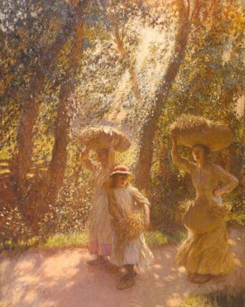 Sir George Clausen 'The Gleaners Returning', 1908