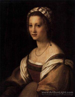 Andrea del Sarto, Portrait de la femme de l'artiste (1513-1514)