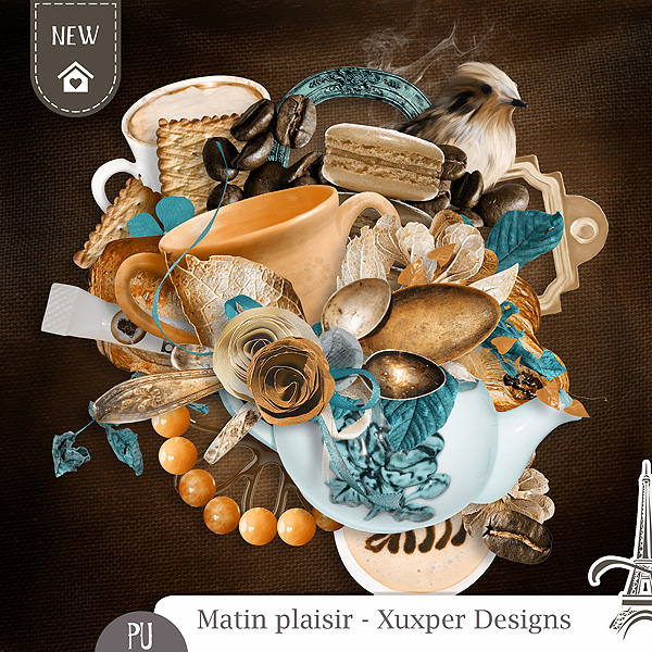 MATIN PLAISIR by Xuxper Designs