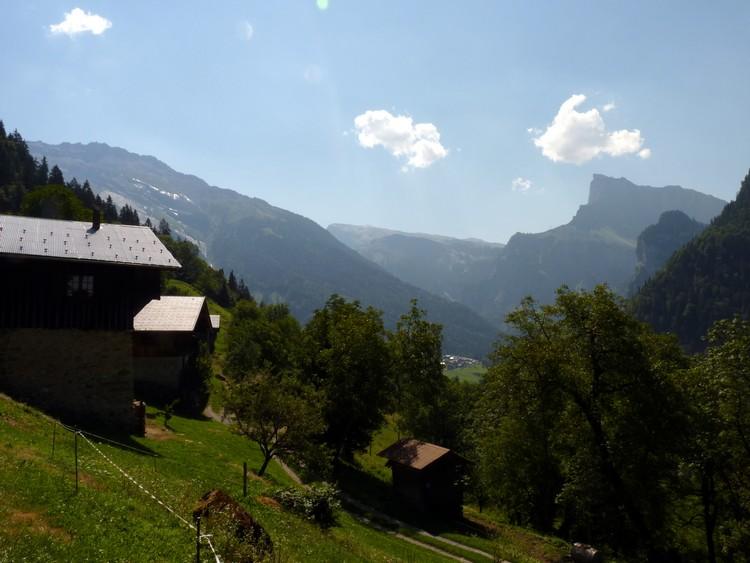 Paysage depuis le Mont
