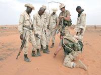 L'armée et les attaques des bandits