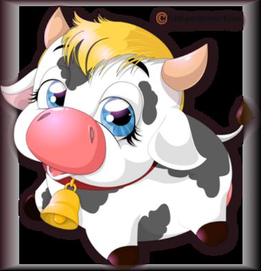 Tube vache 2974