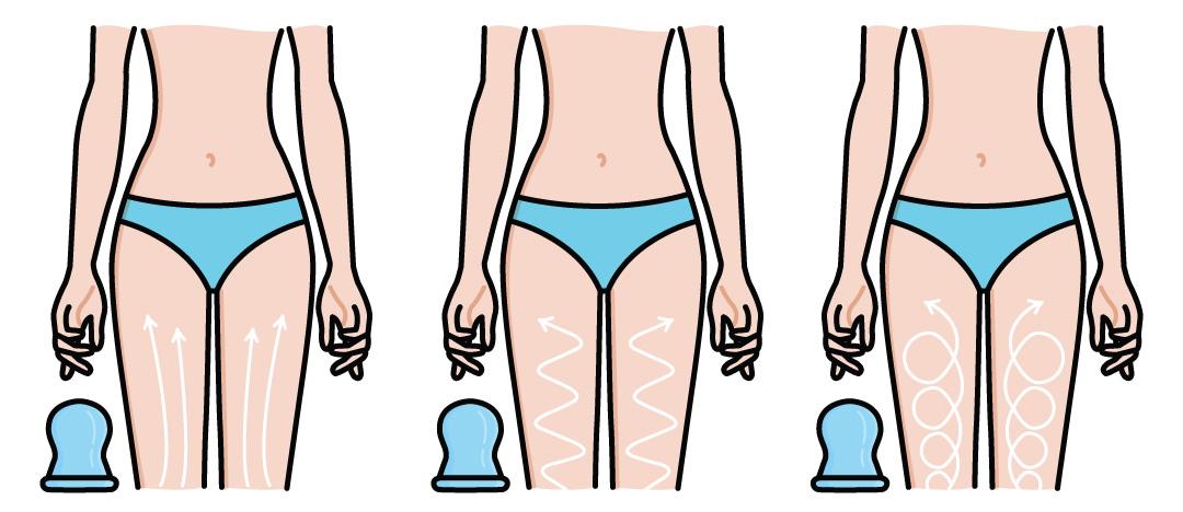 антицеллюлитный вакуумно роликовый массаж