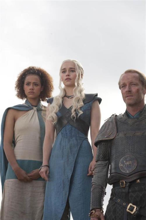 Simili cuir pour le corset de Daenerys