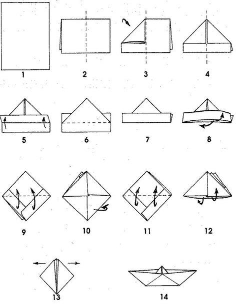 """Résultat de recherche d'images pour """"bateau origami"""""""