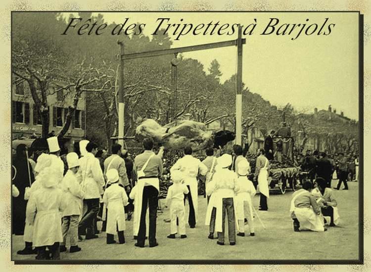La Provence d'Antan : Fête de l'hiver  - Les Tripettes de Barjols -