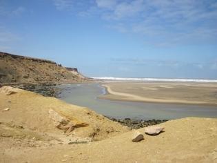 449 Maroc Embouchure où se trouve la source d'eau chaude