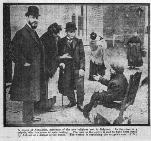 A New Religious Sect in Belgium (Leeds Mercury, Wednesday 14 December 1910)-cripple