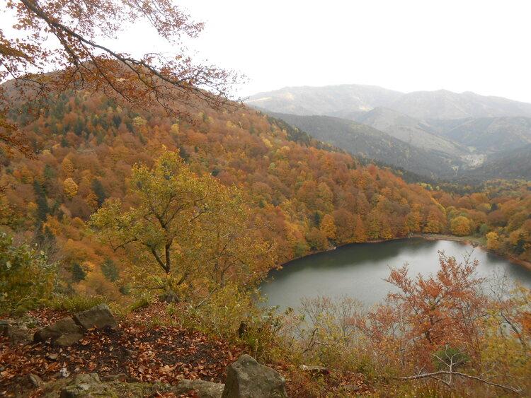 Vosges- passage hivernal en automne