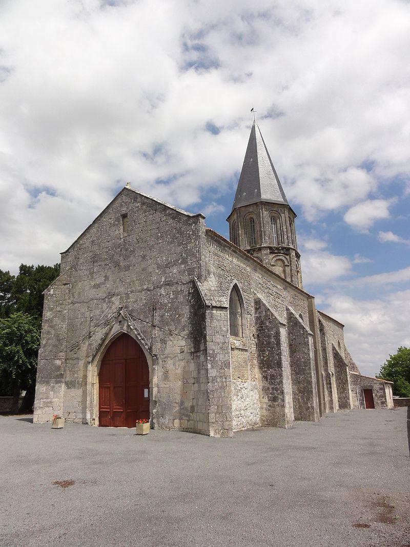 Mazeray (Charente-Maritime) église de la Nativité de la Sainte-Vierge PA00104800.JPG