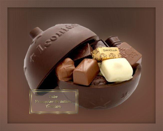 Boîtes en chocolat (01 à 05)