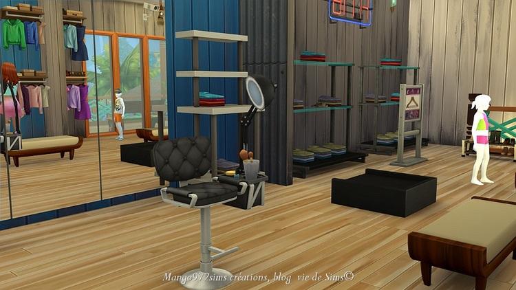 Les Sims 4 : Le tropikal shop, un lieu communautaire pour faire son shopping à Sulani