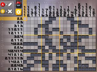 Deoxys Pokémon Picross