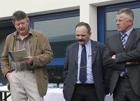 En 28 ans de présidence, Gaby Rouat, à gauche, aura permis l'organisation du championnat régional en 2008 et d'autres compétitions d'envergure.