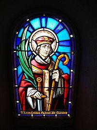 Saint Léon. Archevêque de Rouen († 900)