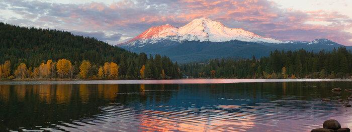 Le Mont Shasta En Californie