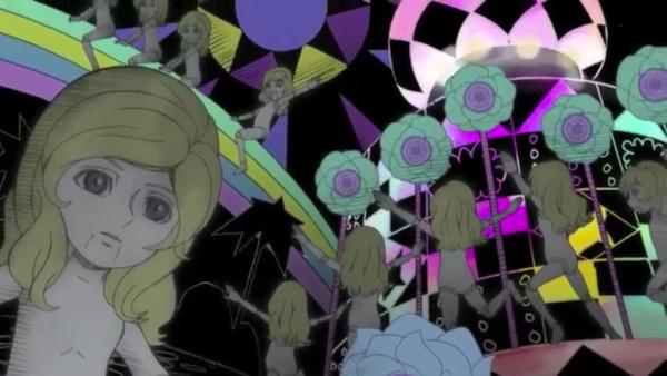 ➤ Explicite MK-Monarch dans une série japonaise : Lupin III, Fujiko Mine