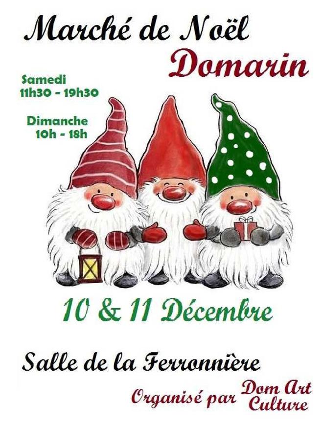 Marché de Noël de Domarin 2016
