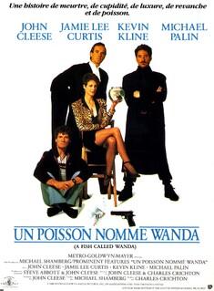 UN POISSON NOMME WANDA BOX OFFICE FRANCE 1989