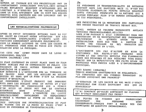microscope N° 63 Materialisations et dematerialisations: termoignages du passé