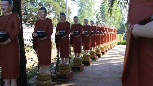 Le temple de Wat Bo