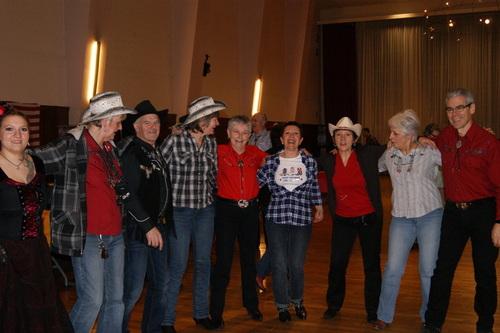 Bal  des  'Chouette Country' à Dijon le 27 janvier 2013