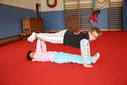 Les acrobaties