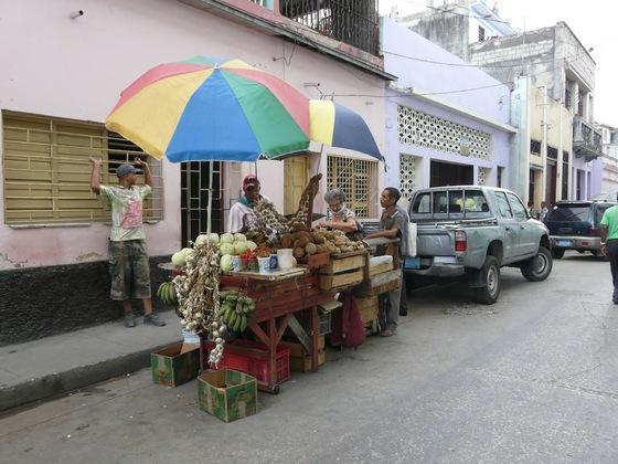 des magasins de rue