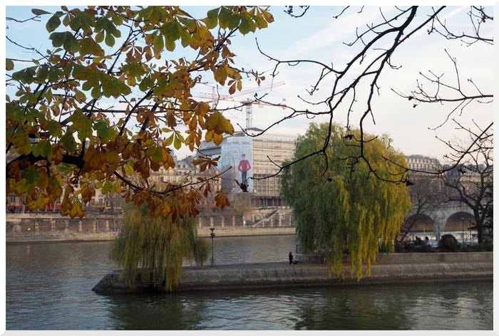 Flâner à Paris. Quai des berges